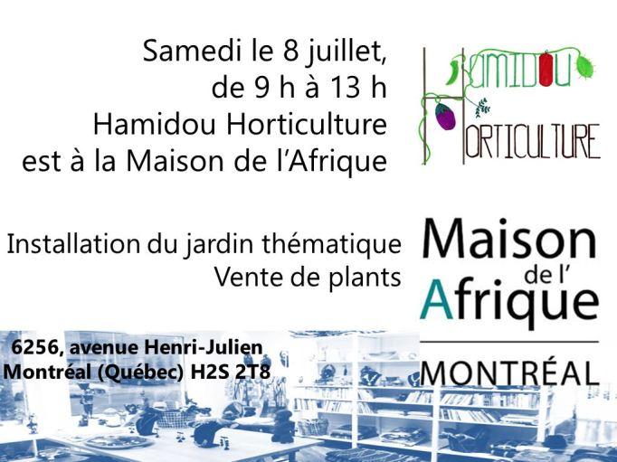 maison de l'afrique 8 juillet